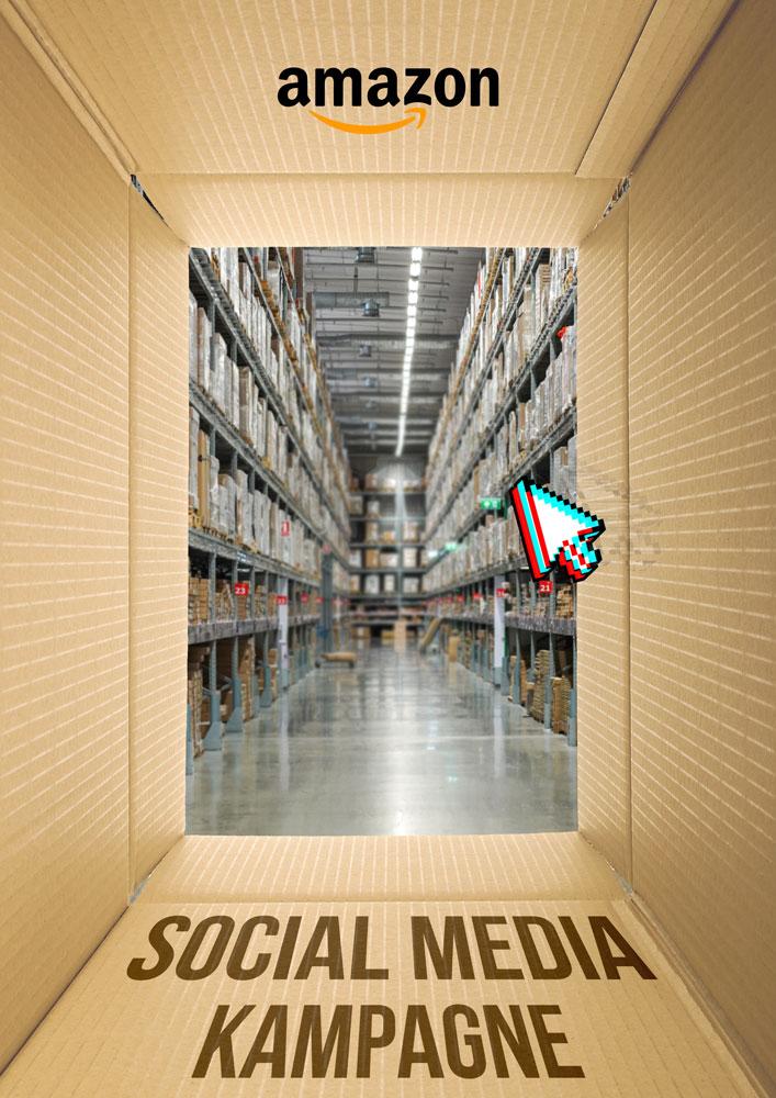 Content Produktion Amazon Poster Social Media