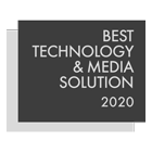 Best Technology and Media Solution 2020
