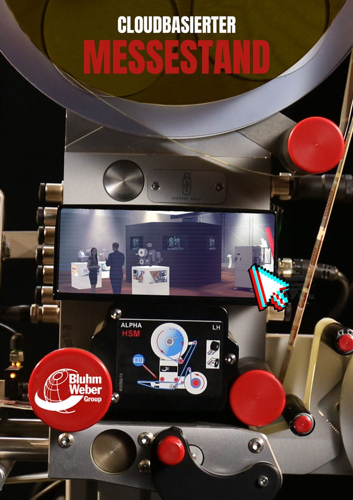 Content Produktion Bluhm Poster Virtuelle Messe Systeme Online Messe