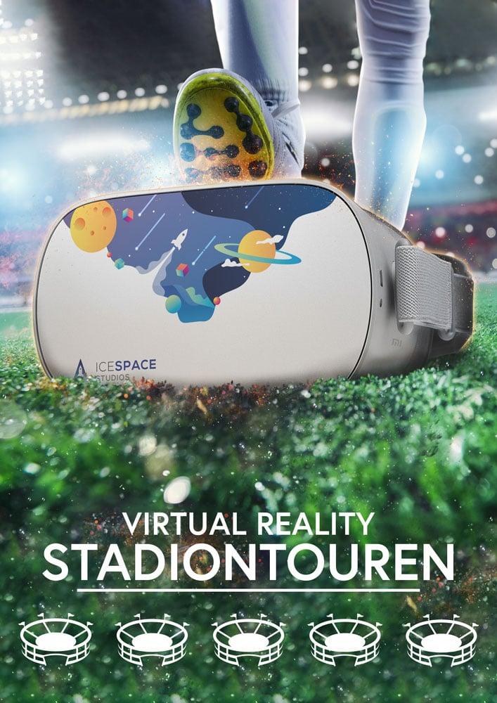 Content Produktion Bundesliga Poster VR Stadiontour Virtual Reality